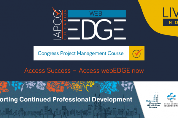 IAPCO webEDGE - Congress Project Management Course